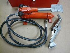 Alcoa MRC Hydraulic Cable Bender Model 750A W/Foot Pump, Hose & Case