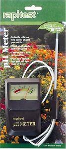 LUSTER LEAF 1840 RAPITEST Soil Plant Garden PH Sensor Meter Tester Test Testing