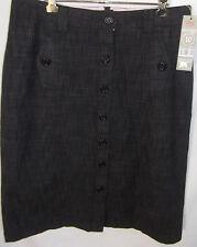 RIVERS Ladies Black flecked Skirt size 10 - BNWT