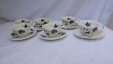 Eva Zeisel for Hallcraft MULBERRY Pattern China - Coffee Cup & Saucer- 8 Avail