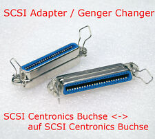 SCSI GENDER CHANGER ADAPTER CENTRONICS BUCHSE FEMALE > SCSI 50-POL 50-PIN BUCHSE