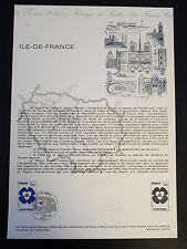 FRANCE MUSEE POSTAL FDC 12-78    ILE DE FRANCE   1F  PARIS  1978