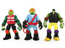 Teenage Mutant Ninja Turtles RALPH DONNIE MIKEY Action Figure LOT Playmates 2013