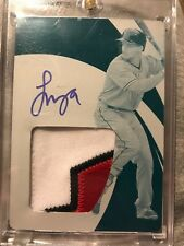2018 Panini Immaculate Francisco Mejia Rookie Patch Auto Printing Plate 1/1!