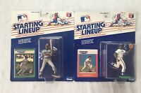 Cleveland Indians Kenner Starting Lineup Figurines Lot Mel Hall Julio Franco