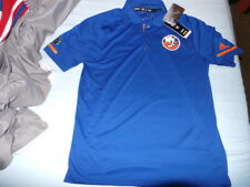187d3f6b8 Adidas Authentic NY New York Islanders Polo Golf Team Shirt  75 NEW NWT M  Medium