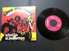 SHEILA B. DEVOTION, DISQUE, VINYLE 45 TOURS, LOVE ME BABE, VINYL RECORD
