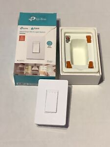 Kasa Smart Dimmer Switch by TP-Link, Single Pole, Needs Neutral Wire,WiFi Light