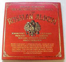EUGENE ORMANDY russian album 3LP BOX RCA RED SEAL USA PHILADELPHIA ORCHESTRA