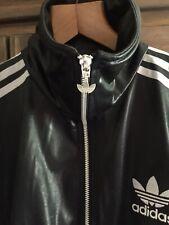 Men's Vintage Chile 62 Shine Black Adidas Originals Jacket Size Medium Rare High