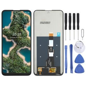 For Nokia X20 LCD Replacement Display Screen Digitizer Touch BLACK