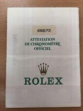Original Vintage Rolex 68273 - 9803845  Watch -  Used   Certificate Guarantee R