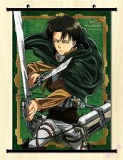"8""*12"" Home Decor Japanese Anime Attack on Titan Wall Poster Scroll NA5"