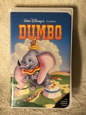 Dumbo VHS Walt Disney Black Diamond Classic