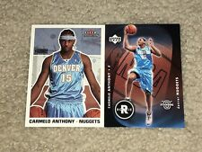 Carmelo Anthony 2003-04 Fleer Tradition RC + Standing O Portland Trail Blazers