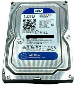WD 1TB Desktop Hard Disk Drive 7200 RPM SATA 6 Gb/s 64MB Cache 3.5 Inch WD10EZEX