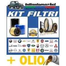 KIT TAGLIANDO FILTRI+OLIO+CANDELE FIAT MULTIPLA 1.6 BIPOWER NATURAL POWER METANO