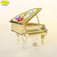 GRAN PIANO 24K GOLD PLATED CRYSTOCRAFT SWAROVSKI ELEMENTS