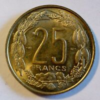 Afrika / Africa - Kamerun / Cameroun - 25 Francs - 1958 - vz erhalten