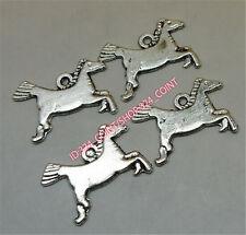 P1459 20pc Tibetan Silver horse Charm Bead Pendant Jewellery Making wholesale