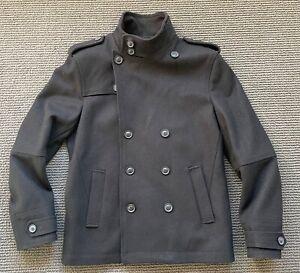 Feels New, Worn Before 'Bossini London' Men's Wool Winter Coat Jacket – Size M