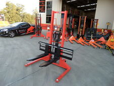 Pallet Stacker, Manual pump and drive,1000kg/1.6m, Best Value !!