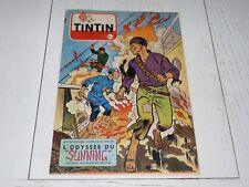 TINTIN 04/08 1955 N°354 HERGE AFFAIRE TOURNESOL DAN COOPER WEINBERG R. REDING