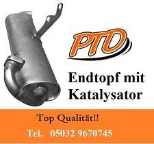 Auspuff Endschalldämpfer mit Kat SMART (450) Cabrio 0.6 0.7