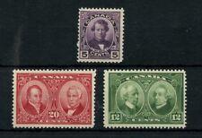 Confederation issue 1927 VF #148 + 147 + MNH Cat $110 Canada mint