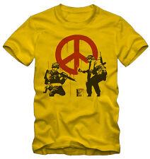 T-shirt /Maglietta Banksy Graffiti Pace Kraz Shop