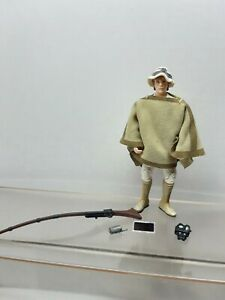 Star Wars 3 3/4 inch Saga Soft Goods Farm Boy Luke Skywalker w Accessories