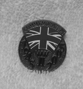 WW2 60 Year Commemoration Pin Badge 1945 - 2005