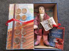 EARLY AMERICAN DOLL & 10 STATE QUARTERS, MARYLAND & FRANCIS SCOTT KEY  OTT-03169