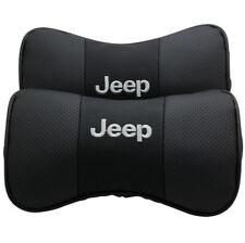 Car Headrest Neck Rest Pillow Cushion For Jeep