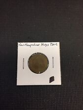 New Hampshire Highway 720C Token Coin Public Works & Highway Combine Shipping