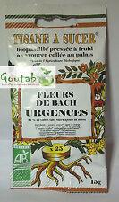 Biopastilles - Tisanes à sucer Fleurs de Bach Urgences Bio - 15 g