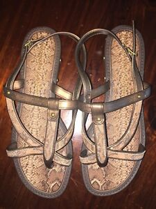 Unworn Studio Grendha Cris Barros Animal Snake Thongs Shoes Size USA 7 (38 EUR)