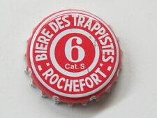 BEER Bottle Crown Cap: ROCHEFORT 6 Authentic Trappist Belgian Brewery Since 1595