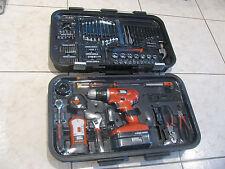 Black & Decker 18V Cordless Drill Set, GC1801PK