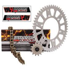 NEW X Ring Gold Chain and Sprocket Kit Aluminum Kawasaki KFX 400 2003–2006