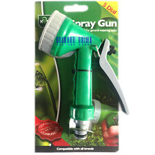 5 Dial Setting Multi Pattern Spray Nozzle Gun - Compatible with all Brands