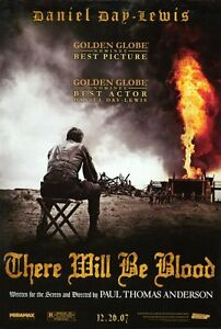 """THERE WILL BE BLOOD  Movie Poster [Licensed-NEW-USA] 27x40"""" Theater Size"""