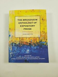 The Broadview Anthology of Expository Prose 3rd Edition Paperback 2016