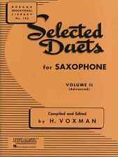 "Rubank ""Selected Duets"" Volume 2 For Saxophone Music Book Band Brand New On Sale"