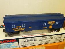 Lionel 16801 Lionel Railroad Club Bunk Car- New- In Mailer- W10