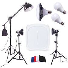 LED Photography Studio - 3 x Light Kit | 60cm Tent | Continuous Lighting Cube