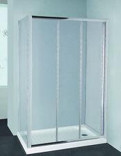 900x900 SQUARE SLIDING DOORS 6MM TOUGHEN GLASS FRAMED SHOWER SCREEN