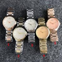 Luxury Brand Watch Stainless Steel Crystal Bear Watch Woman And Men Quartz Watch