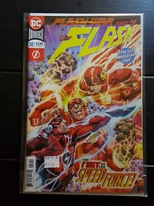 DC THE FLASH #50 2018 NM free shipping bagged/boarded