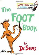The Foot Book (The Bright and Early Books for Beginning Beginners) by Dr. Seuss